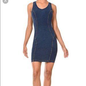 Freddy WR.UP Jean dress. Stretchy blue denim XS